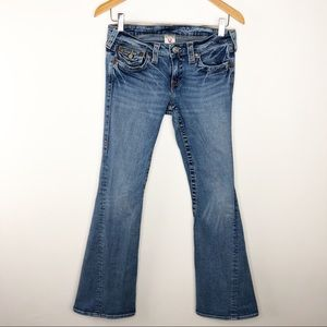 🌿 True Religion Low Rise Flare Jeans